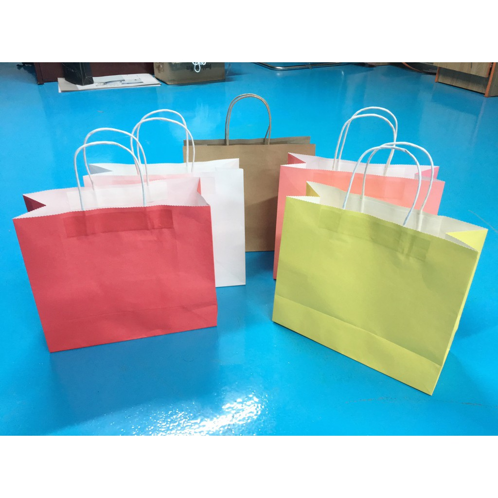 Túi giấy to bự KT08T -màu (26x30x12)