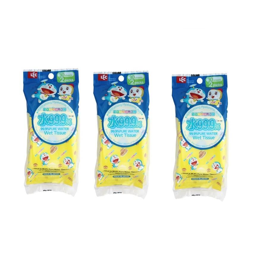 Combo 3 Giấy ướt LEC nước tinh khiết 99,9% Doraemon 30 tờ x 2 gói SS-302 - 2565075 , 1080517532 , 322_1080517532 , 135000 , Combo-3-Giay-uot-LEC-nuoc-tinh-khiet-999Phan-Tram-Doraemon-30-to-x-2-goi-SS-302-322_1080517532 , shopee.vn , Combo 3 Giấy ướt LEC nước tinh khiết 99,9% Doraemon 30 tờ x 2 gói SS-302