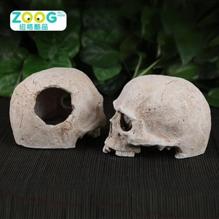 Nhà đầu lâu nửa đầu dành cho bò sát hamster đuôi mập halloween thumbnail