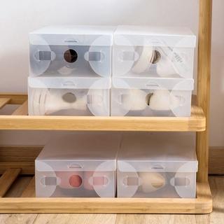 Set 10 hộp nhựa trong suốt đựng giày tiện dụng - hình 3