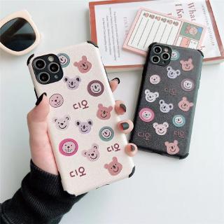 Ốp điện thoại họa tiết gấu 4 góc chống sốc Redmi NOTE 8 Pro K30 Pro Xiaomi Mi 9 10 Pro NOVA 7i HUAWEI Y9S HONOR 8X