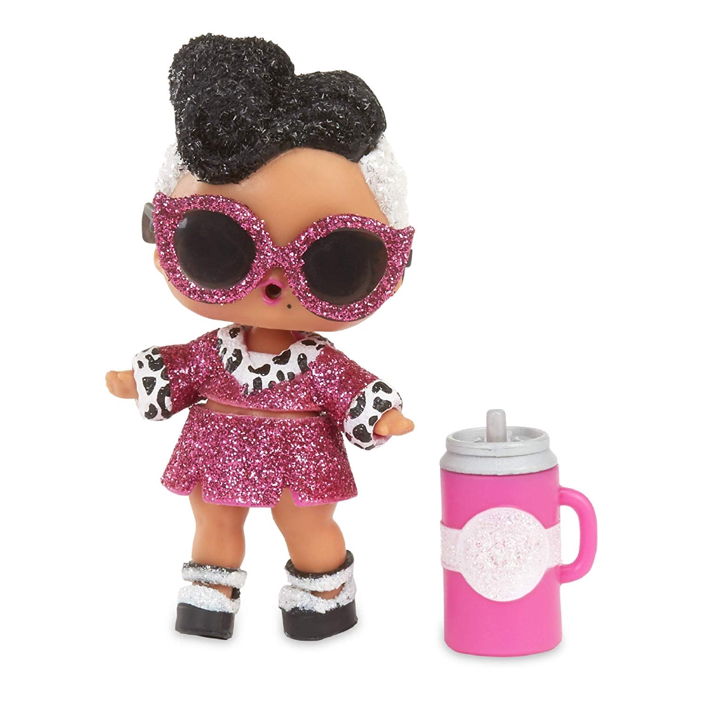 LOL Surprise! Bling Series với Glitter Chi tiết & amp; Doll hiển thị, Multicolor