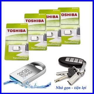 USB 4GB/8GB/16GB/32GB SIÊU NHỎ TOSHIBA -USB Ô TÔ(CHỐNG NƯỚC)(bh 12 Tháng) 5centimet