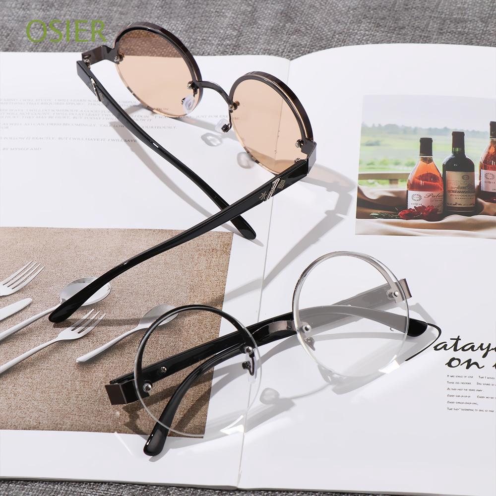 OSIER Half-frame Men Women +0.00~+4.0 Diopter Metal Titanium Alloy Eye wear Reading Glasses