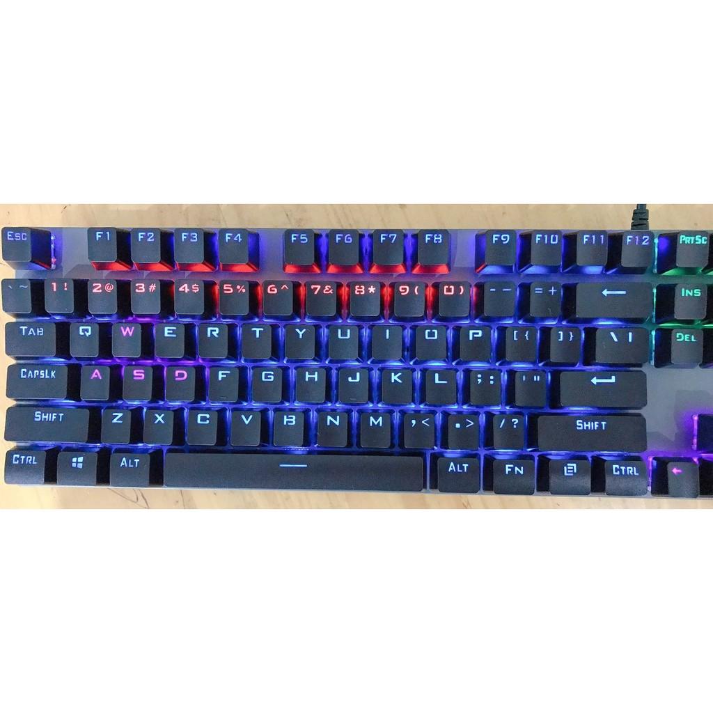 Bộ bàn phím giả cơ PRO G21 kèm chuột/ Bàn phím cơ K60 chuyên Gaming Có LED RGB 7 Màu Siêu Ấn Tượng