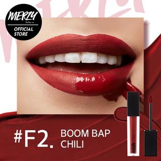 Son tint lì Merzy Off The Record Fitting Lip màu đỏ pha nâu F2 - Boom Bap Chili 5,5g-1