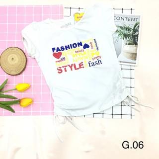 Áo Thun Bé Gái Chất Liệu Cotton ( G01 - G07)