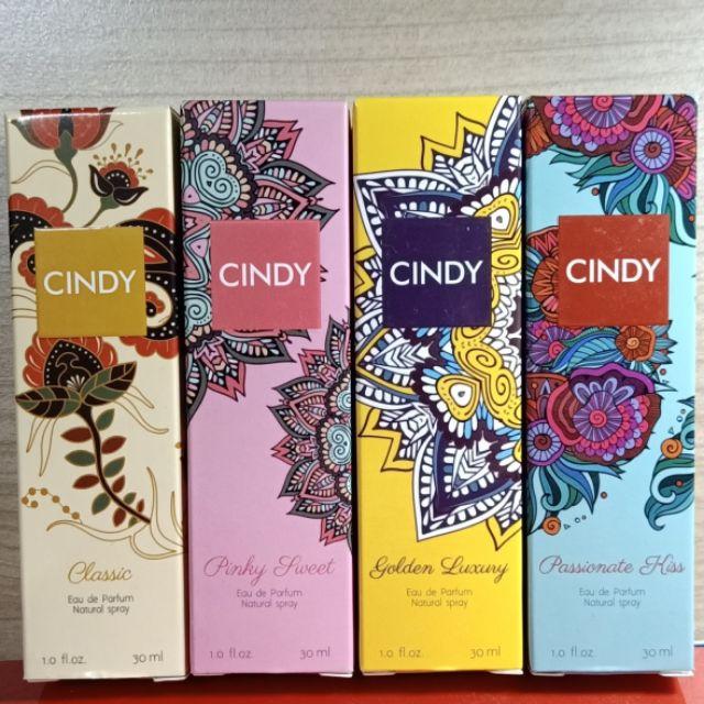 (4 MÙI) Nước hoa Cindy hương thơm tinh tế 30ml