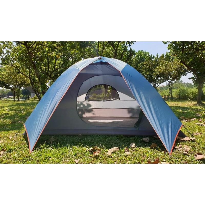 Lều cắm trại 5-6 người (eureka tetragon 8)