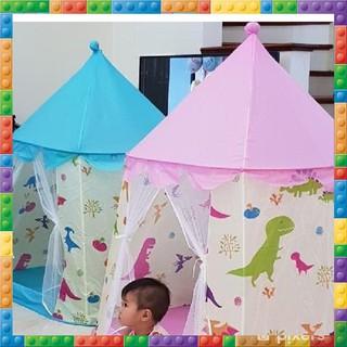 CDZ Lều bóng công chúa hoàng tử hoa văn khủng long 2019