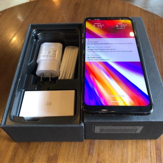 Điện thoại LG G7 thinq bản hàn cpu snap 845 ram 4gb bộ nhớ 64gb fullbox