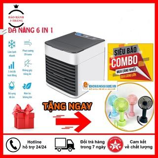 Quạt Điều Hòa Mini 🔥Hàng loại 1 🔥 Máy điều hòa mini dùng hơi nước đá làm mát và sạch không khí tốt cho sức khỏe