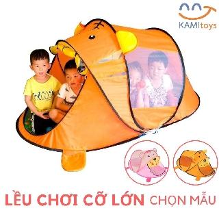 Yêu ThíchLều chơi Nhà banh bóng hình Gấu ❤️Cỡ lớn 180cm❤️ Mùng ngủ chống muỗi gấp gọn cho trẻ em trong nhà ngoài trời