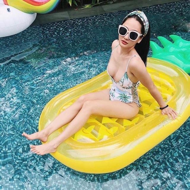 Phao Bơi Dứa Người Lớn Khổng Lồ Kèm Bơm + Phao Mini