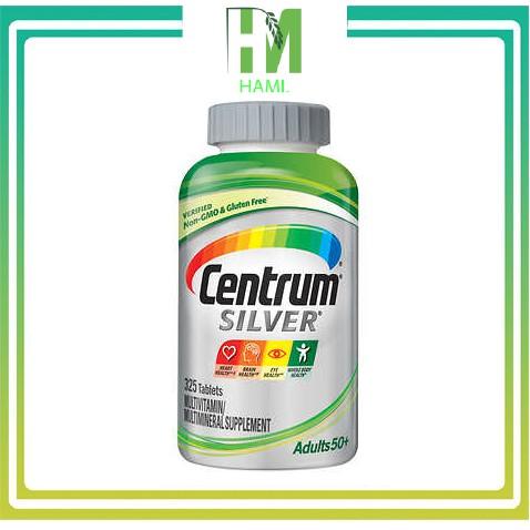 Centrum silver Nam và Nữ 50 + Vitamin tổng hợp  325 viên Mỹ