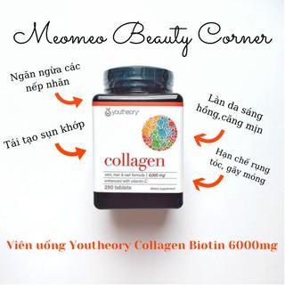 Viên Uống Collagen Max Youtheory Collagen Biotin 6000mg thumbnail