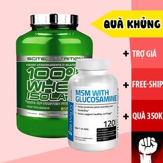 WHEY ISOLATE Sữa Tăng Cơ Scitec 100% Whey Protein [2KG] - Chính Hãng Muscle Fitness thumbnail