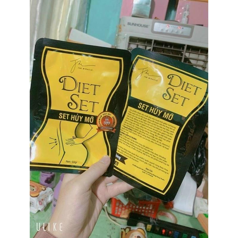 Combo 3 Gói Huỷ Mỡ Diet chính hãng