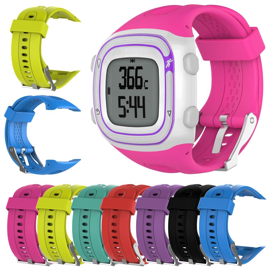 Sports Silicone Wrist Band Strap For Garmin Forerunner 10 15 GPS Watch Gear Spor