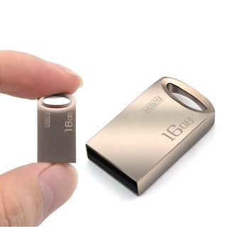 [Mã ELORDER5 giảm 10K đơn 20K] USB 16GB 2.0 Kim loại mini nhỏ gọn dễ móc vào chìa khóa