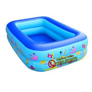 Bể Bơi 2 Tầng Có Đủ Size Cho Bé Và Gia Đình. Hàng Loại 1 Dày Dặn