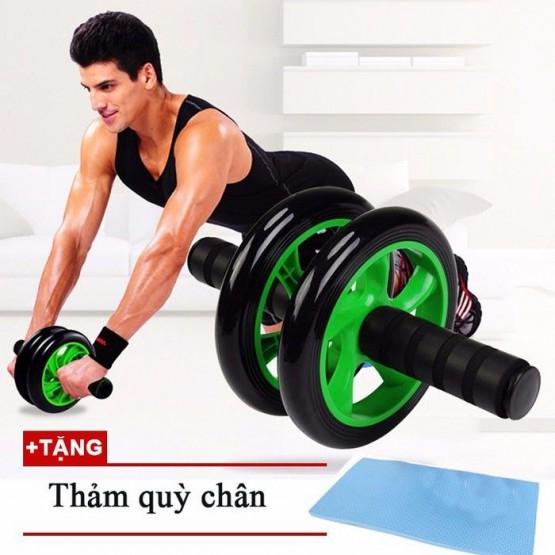 Con lăn 2 bánh tập cơ bụng AB wheel CHÍNH HÃNG MÃ CL01