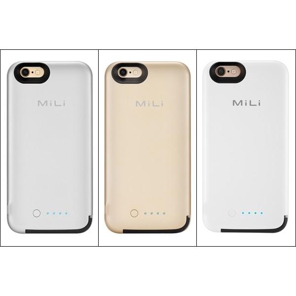 Ốp lưng MiLi Power Spring 6 kiêm pin sạc dự phòng 3500mAh cho iPhone 6, 6S