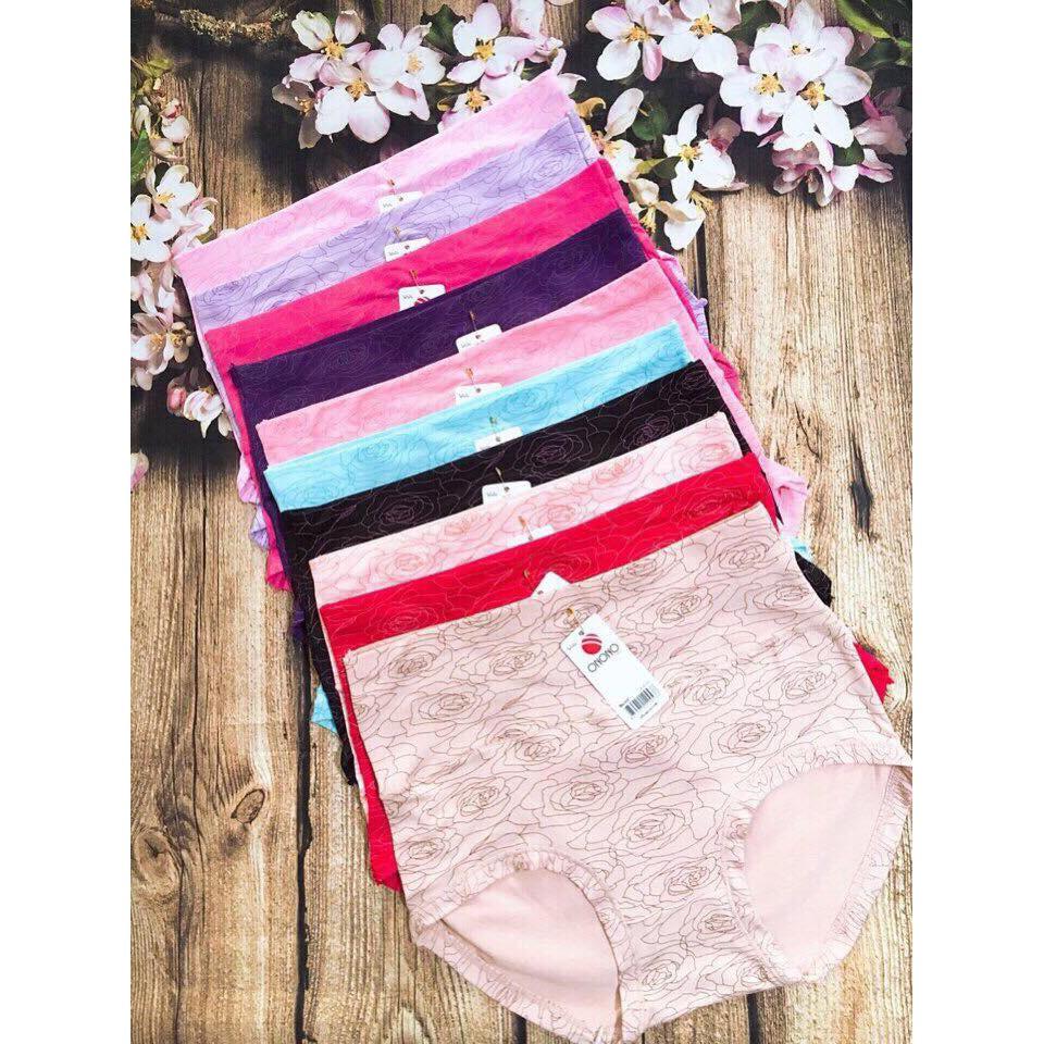 QUẦN LÓT NỮ - combo 5 quần big size ôm bụng #115 | WebRaoVat