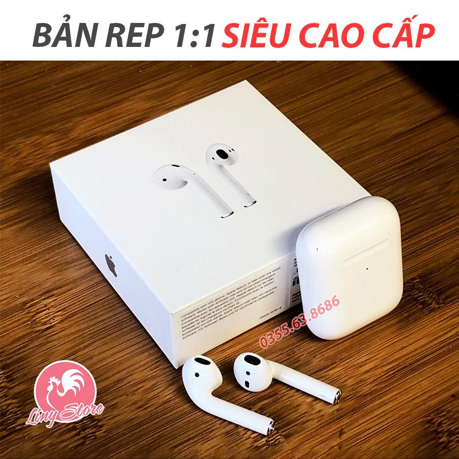 [Mã SKAMPUSHA7 giảm 8% đơn 250k][ TẶNG ỐP - FREESHIP ] - AIRPODS 2 - Tai nghe Bluetooth bản cao cấp