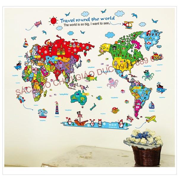 Decal dán tường bản đồ du lịch thế giới cho bé The world is so big, I want to see Mẫu 1 - Tặng 1 bản - 2631602 , 1058863872 , 322_1058863872 , 145000 , Decal-dan-tuong-ban-do-du-lich-the-gioi-cho-be-The-world-is-so-big-I-want-to-see-Mau-1-Tang-1-ban-322_1058863872 , shopee.vn , Decal dán tường bản đồ du lịch thế giới cho bé The world is so big, I want