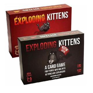 Combo 2 bản mèo nổ cơ bản exploding kittens giá rẻ USố 6039