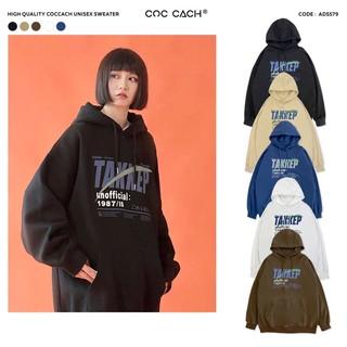 [Mã FASHIONRNK giảm 10K đơn 50K] Áo hoodie nam nữ AD5579 by COC CACH thumbnail