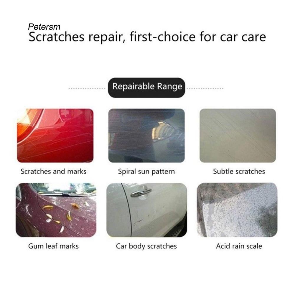 PST_50ml Car Auto Repair Heavy Scratch Remover Paint Care Maintenance Polish Wax