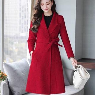 Áo khoác dạ cổ vest cao cấp dáng dài đủ size