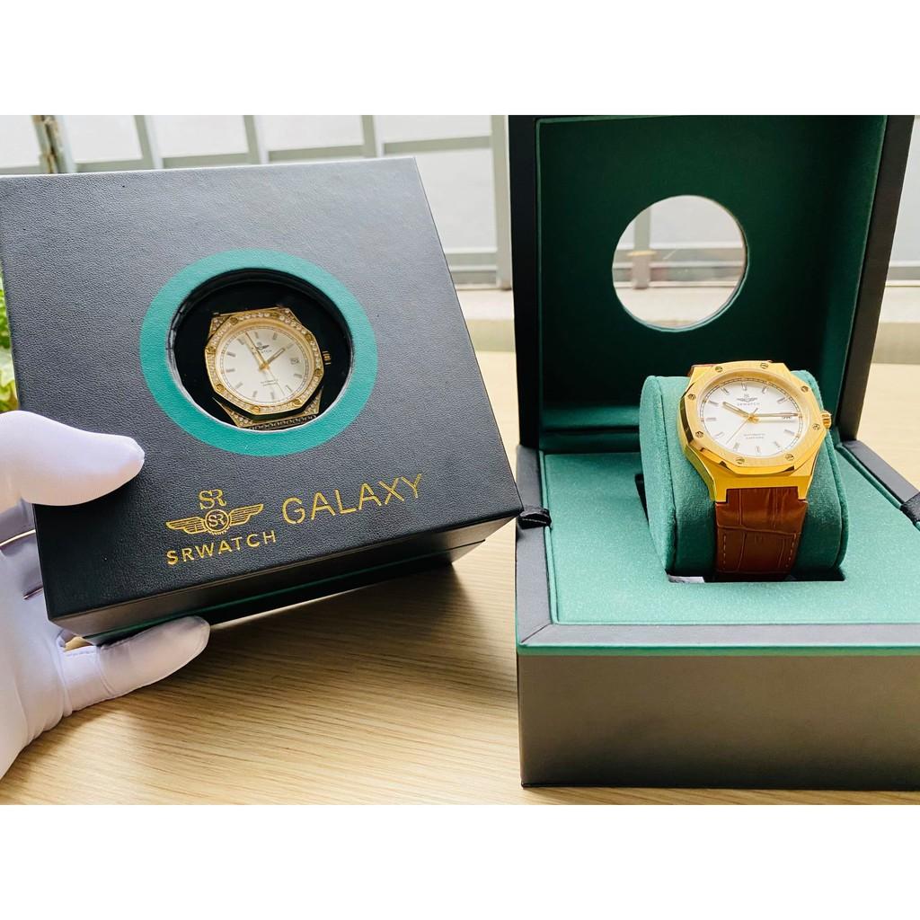 👑 Đồng hồ nam SR WATCH GALAXY SG99993.4602GLA /  SG99991.4602GLA - Siêu phẩm tiểu Hublot 😎