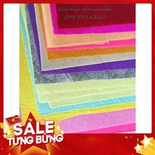 [Rẻ Vô Địch] Vải dạ nỉ làm đồ treo nôi