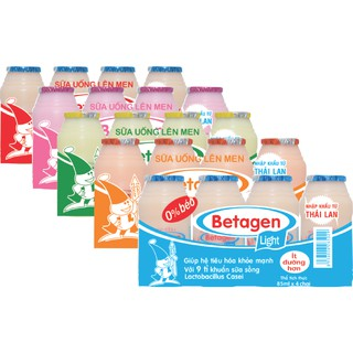 Sữa uống lên men BETAGEN – Set E (05 lốc 85ml)