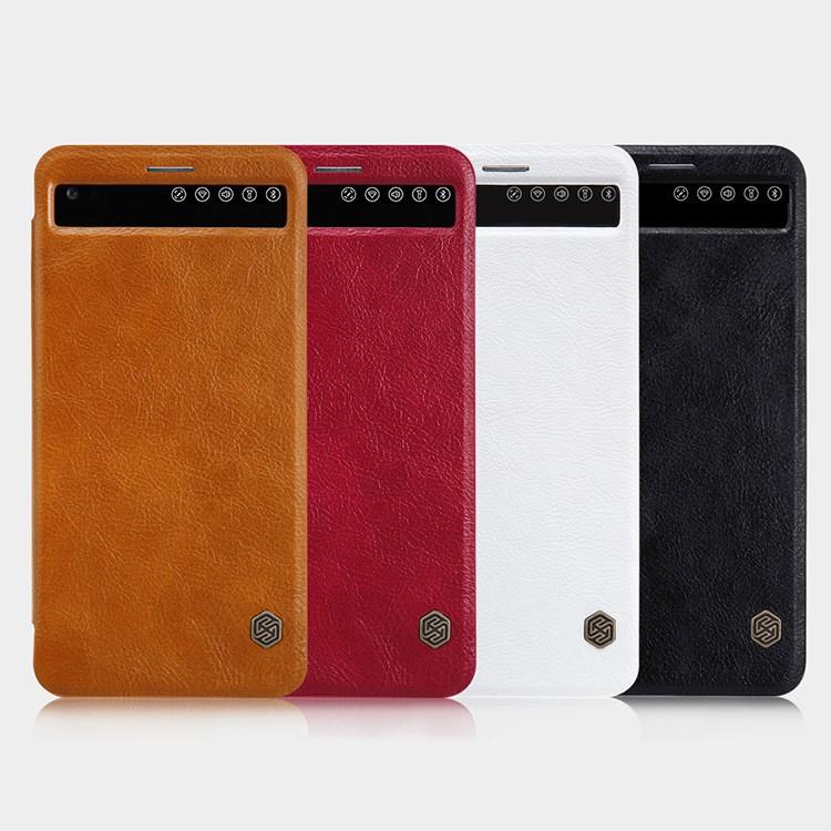 Smart Cover Leather Nillkin LG V20 (Hàng chính hãng)