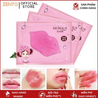 Mặt nạ môi collagen dưỡng môi hồng, giảm thâm Zento thumbnail