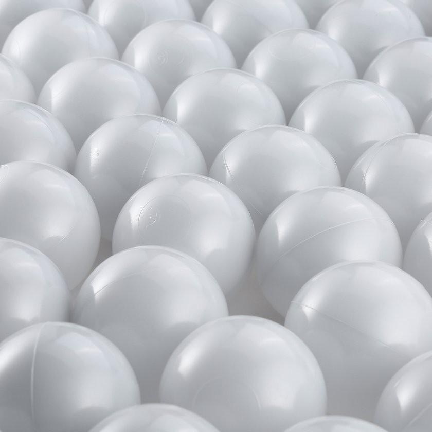 【Kiss】50 Pcs 7CM Baby Anti Stress Ocean Ball Safe Plastic Black Grey White Balls