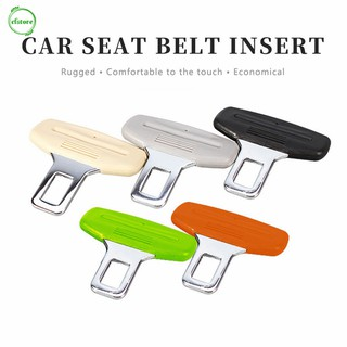 CF Car Safety Belt Buckle Silicon Protector Anti-Scratch Clip Universal Auto Accessories