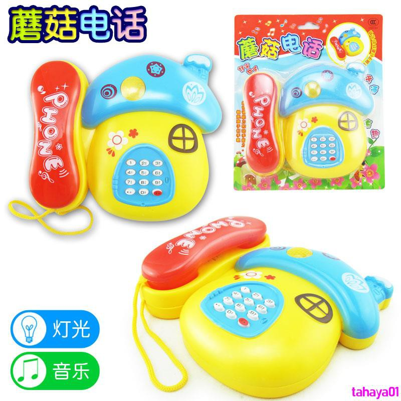 Orders over 250000 shipping daily specials baby children's toys phone cartoon light music phone baby educationtahaya01