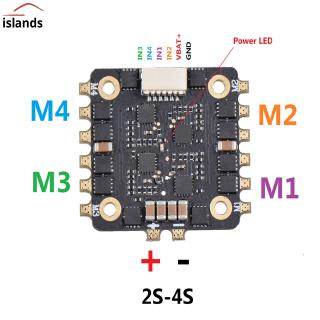 EM15A 25A 4-in-1 ESC BLHELI_S 20*20MM DSHOT600 Brushless ESC 2-4S For RC Muiltitor Spare Parts
