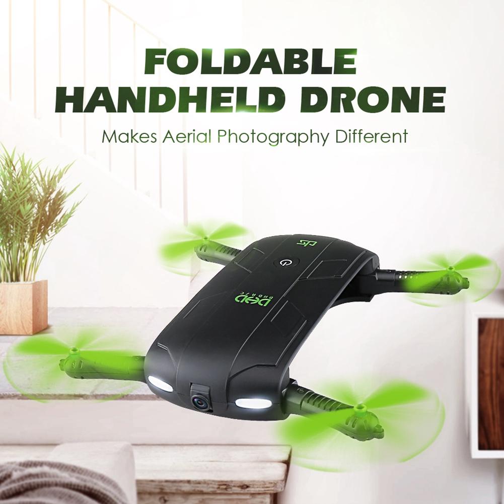 DHD-D5 Mini Wifi 0.3MP HD Camera Drone Foldable Pocket 6Axis 4CH RC Quadcopter