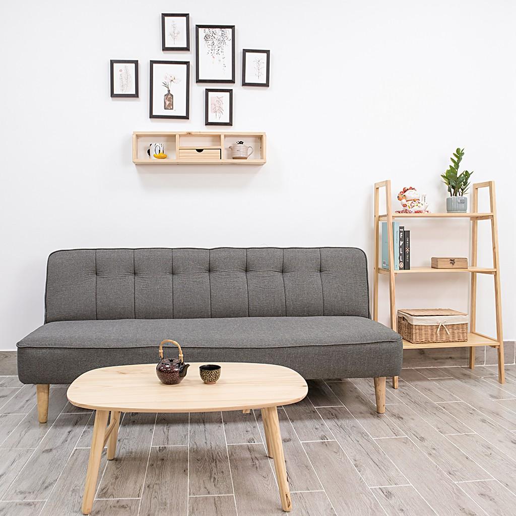 Ghế Sofa Giường Gỗ Đơn Thông Minh Gía Rẻ GUSAN Bed kéo nằm ngủ chân gỗ