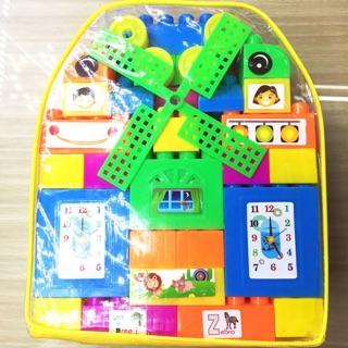 Bộ đồ chơi lắp ráp Bảo Long an toàn cho bé