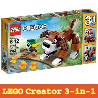 Bộ Xếp Hình Công Viên Động Vật LEGO Creator 31044 – Đồ Chơi LEGO Chính Hãng – Bộ Xếp Hình LEGO Đẹp