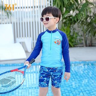Đồ bơi 361 degree chống nắng thời trang mùa xuân cho bé trai cỡ lớn và trung bình thumbnail