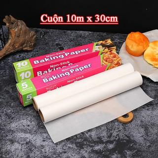 [SẴN] 10m cuộn Giấy Nến chuyên nghiệp chống dính dụng cụ làm bánh cao cấp