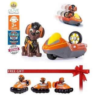 [ComboDeal] Bộ chó rời ZUMA + cano mini TẶNG xe Zuma nhỏ phim Những chú chó cứu hộ – Paw Patrol